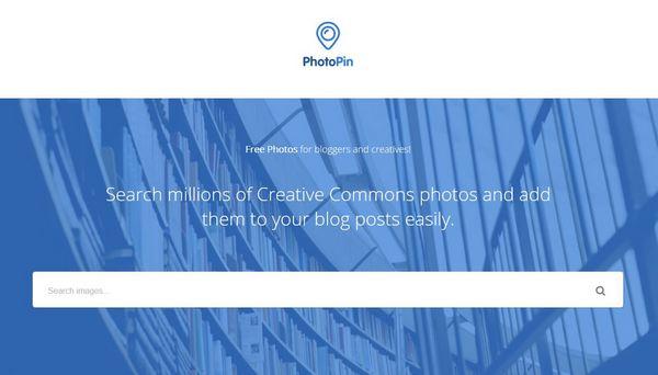 Bilder für Blogs finden mit Photo Pin