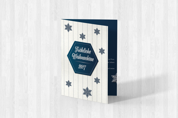 Weihnachtskarten-Freebie 2017