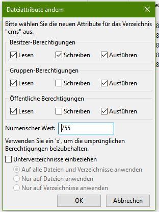 Dateirechte-in-File-Zilla-vergeben